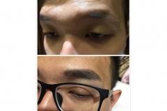 20-Men Eyebrow embroidery