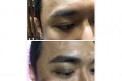 21-Men semi permanent brow