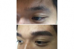 24-Men brow embroidery