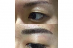 10-Natural eyebrow embroidery work