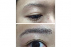 8-Eyebrow embroidery no more brow pencil